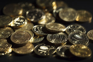 Image of Coins cleaned by Sparkle Again Gold Cleaner