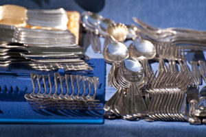 Image of Cutlery cleaned by Sparkle Again Gold Cleaner