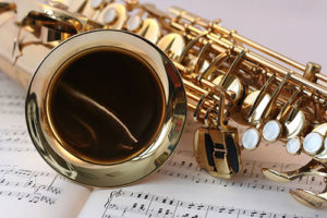 Image of Saxophone cleaned by Sparkle Again Gold Cleaner